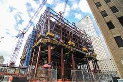 1 всемирный торговый центр под конструкцией, Нью-Йорком Стоковая Фотография
