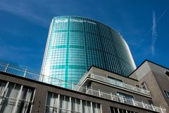 Всемирный торговый центр Роттердам стоковое фото rf