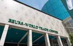 Всемирный торговый центр Роттердам Стоковые Изображения