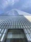 Всемирный торговый центр смотрит вверх стоковые фотографии rf