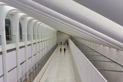 Всемирный торговый центр Oculus - Нью-Йорк Стоковая Фотография