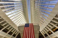 Всемирный торговый центр Oculus - Нью-Йорк Стоковые Изображения RF