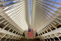 Всемирный торговый центр Oculus - Нью-Йорк Стоковые Фотографии RF