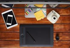 Всем нужны устройства для дизайнера Стоковое Изображение RF