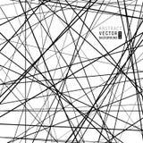 Всеобщая абстрактная черно-белая предпосылка от пересекать бесплатная иллюстрация