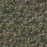 Всеобщая картина камуфлирования. Безшовная текстура. Стоковое фото RF