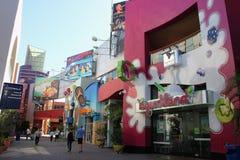 Всеобщее CityWalk Голливуд Стоковые Фотографии RF