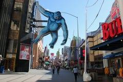 Всеобщее CityWalk Голливуд Стоковое фото RF