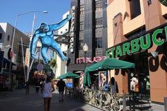 Всеобщее CityWalk Голливуд Стоковое Фото