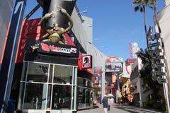 Всеобщее CityWalk Голливуд Стоковое Изображение RF