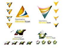 Всеобщие абстрактные геометрические формы - дело Стоковые Фотографии RF