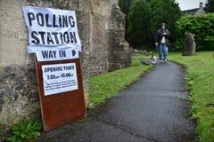 Всеобщие выборы Великобритании Стоковые Изображения RF