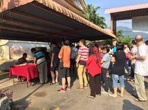 Всеобщие выборы 2018 Малайзии/GE 14 стоковое фото rf