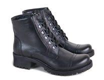 Всепогодные ботинки изолированные на белой предпосылке Стоковые Изображения RF