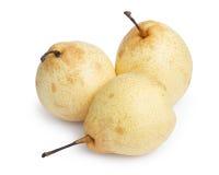 3 всех груши nashi Стоковые Изображения