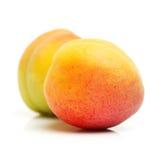 2 всех персика Стоковое Изображение