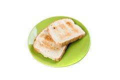 2 всех провозглашанного тост куска зерна хлеба Стоковое Изображение RF