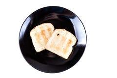 2 всех провозглашанного тост куска зерна хлеба Стоковое фото RF