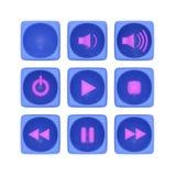 Все виды кнопок бесплатная иллюстрация