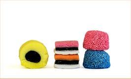 все виды конфеты Стоковое Фото