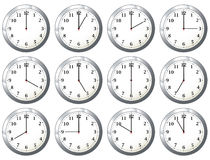все времена офиса часов Стоковые Изображения RF