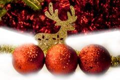 все все предметы иллюстрации элементов оленей рождества индивидуальные вычисляют по маштабу текстуры размера для того чтобы vecto Стоковое фото RF