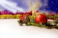 все все предметы иллюстрации элементов оленей рождества индивидуальные вычисляют по маштабу текстуры размера для того чтобы vecto Стоковое Фото