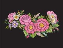 все все предметы флористической иллюстрации элементов состава индивидуальные вычисляют по маштабу текстуры размера для того чтобы Стоковое фото RF