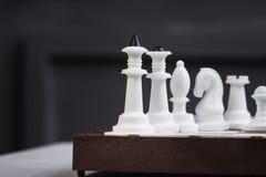 Все диаграммы шахмат белизны пластичные Стоковое Изображение RF
