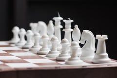 Все диаграммы шахмат белизны пластичные Стоковая Фотография