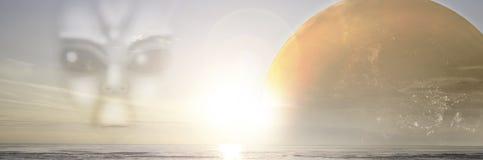 Вселенная нашествия чужеземца Стоковые Фотографии RF