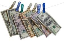 Все деньги США Стоковая Фотография RF