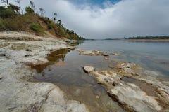 Все еще воды неусидчивого реки стоковое изображение