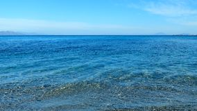 Все еще воды побережья Средиземного моря, предпосылка перемещения сток-видео
