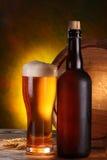 Все еще жизнь с бочонком пива стоковая фотография