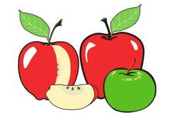 Все еще жизнь с яблоками Стоковые Фото