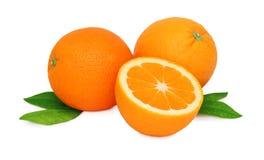 2 все и апельсины половины () Стоковое фото RF