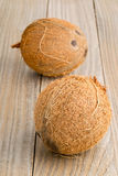Все кокосы на таблице Стоковая Фотография RF