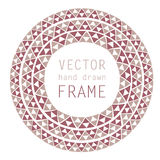 все нарисованные легко редактируемые слои руки рамки элементов отделяются иллюстрация вектора