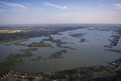 Все озеро Velencei Стоковые Изображения