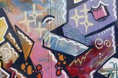 все покрасили надпись на стенах Стоковое Изображение RF