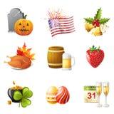 Все праздники Стоковые Фотографии RF