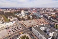 Все-русское ралли против коррупции силы в Калининграде Стоковое Изображение