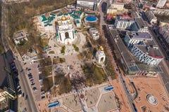 Все-русское ралли против коррупции силы в Калининграде Стоковая Фотография RF