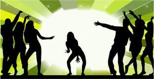 все танцуют случай иллюстрация штока