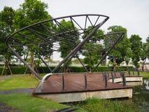 Все украшения в парке, благоустраивая идеи, ландшафт в g Стоковое Изображение