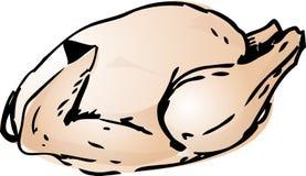 все цыпленка сырцовое иллюстрация вектора