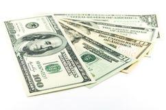 Все штабелируют тип американских долларов Стоковые Фото