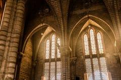 все hymnals церков балкона внутри больших самомоднейших театральных ложа осматривают видимое Стоковые Изображения