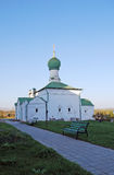 все saints церков Священный и Troitsk Danilov монастырь в городе Pereslavl-Zalessky Россия стоковые фото